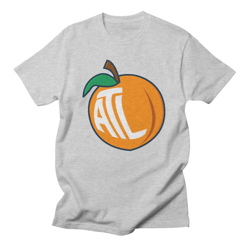 ATL Peach Emoji Men's Regular T-Shirt by
