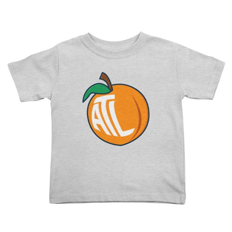 ATL Peach Emoji Kids Toddler T-Shirt by