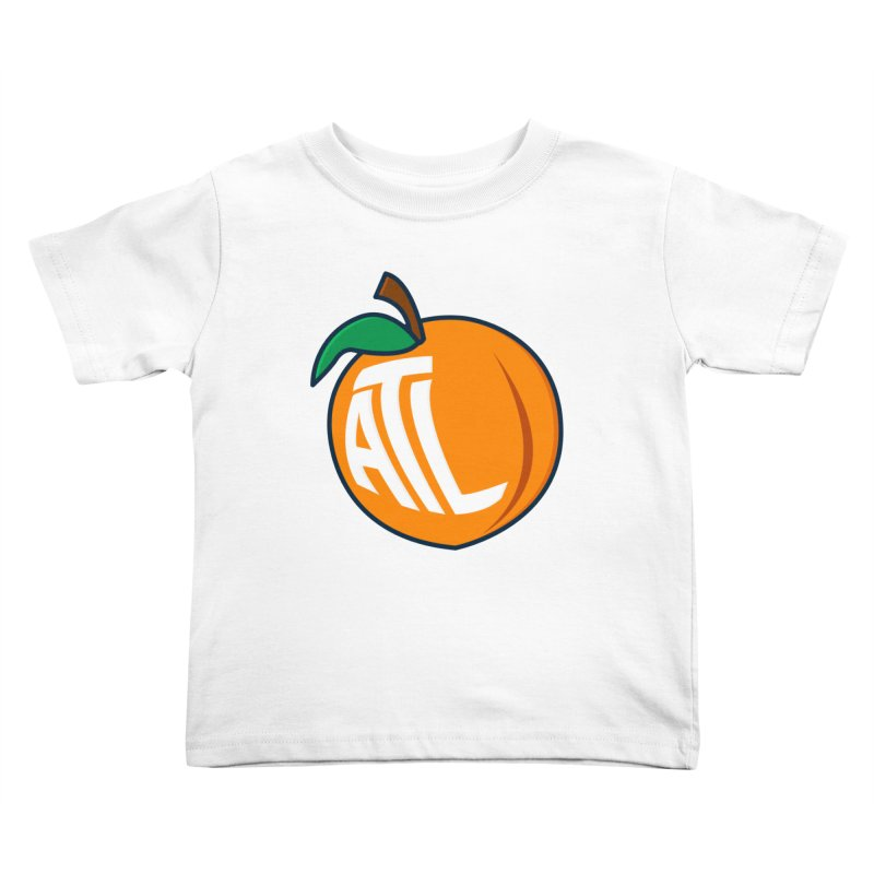 ATL Peach Emoji Kids Toddler T-Shirt by
