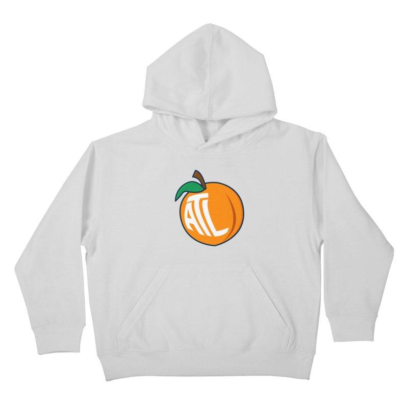 ATL Peach Emoji Kids Pullover Hoody by