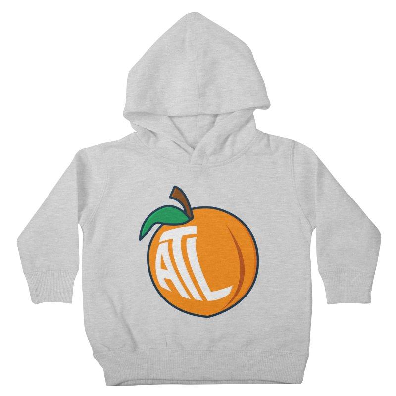 ATL Peach Emoji Kids Toddler Pullover Hoody by