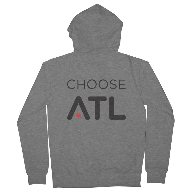 Choose ATL Men's French Terry Zip-Up Hoody by