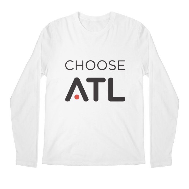 Choose ATL Men's Regular Longsleeve T-Shirt by