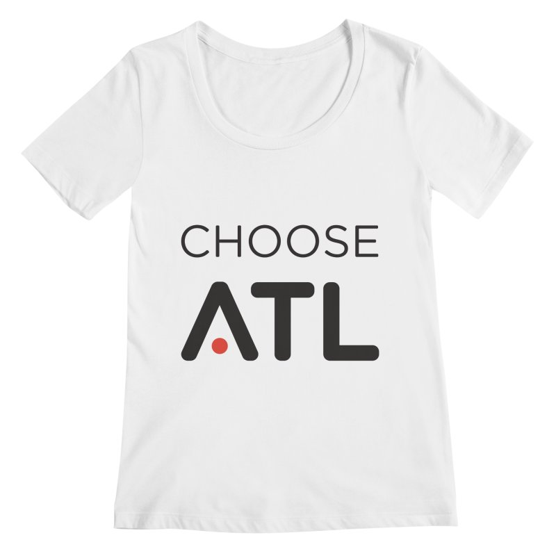 Choose ATL Women's Regular Scoop Neck by