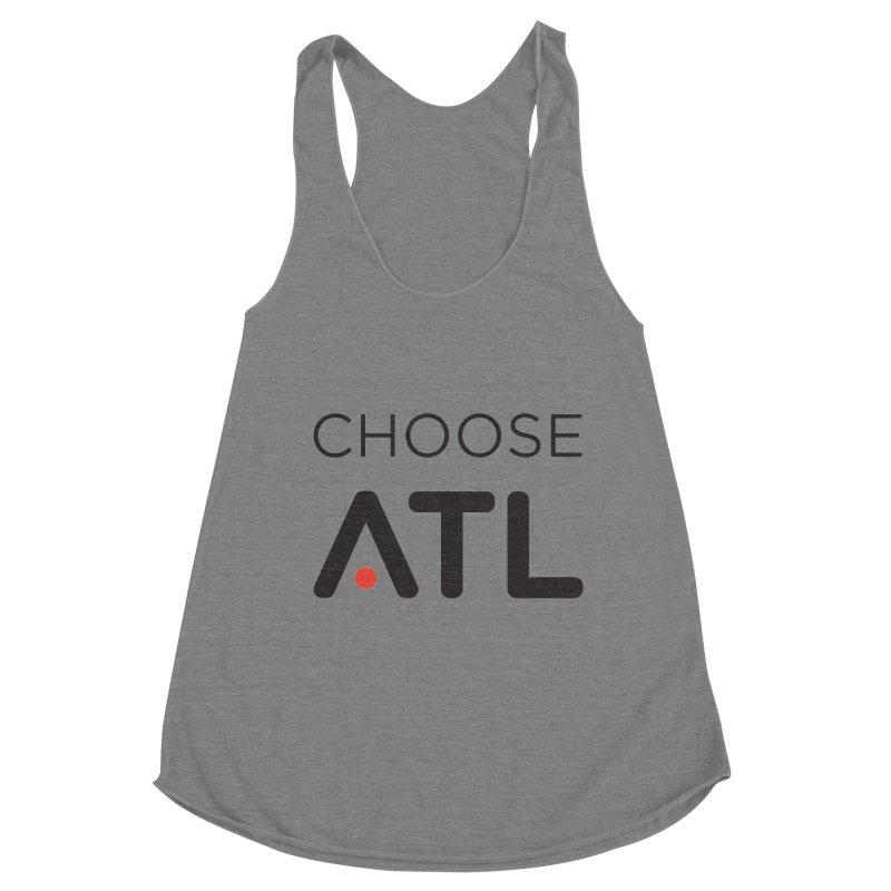 Choose ATL Women's Racerback Triblend Tank by