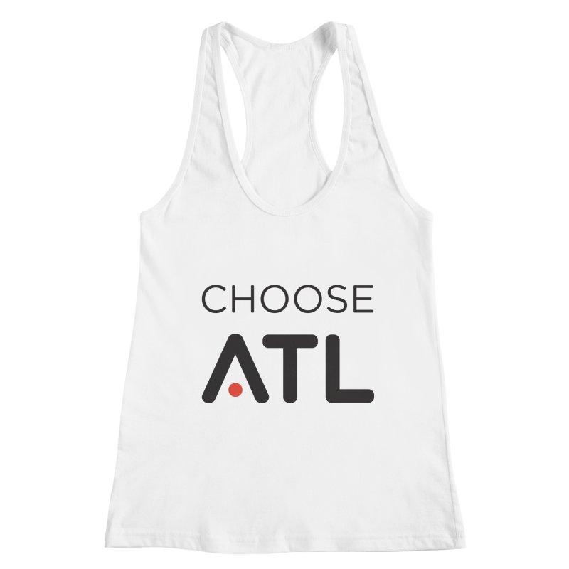 Choose ATL Women's Racerback Tank by
