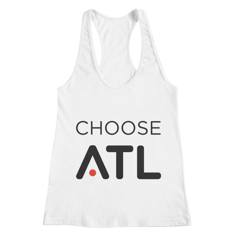 Choose ATL Women's Racerback Tank by