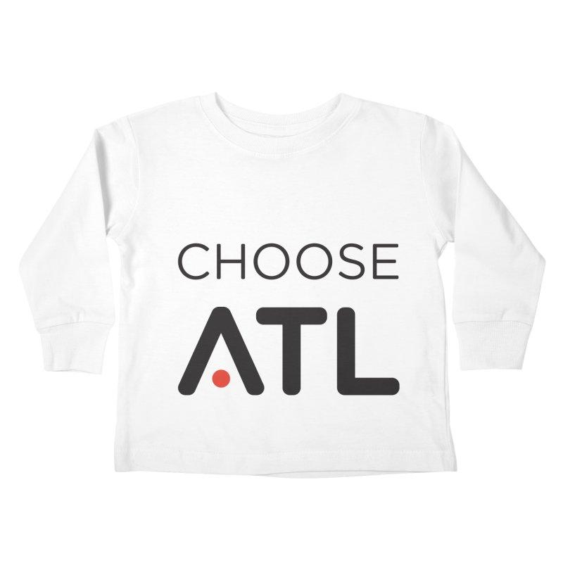 Choose ATL Kids Toddler Longsleeve T-Shirt by