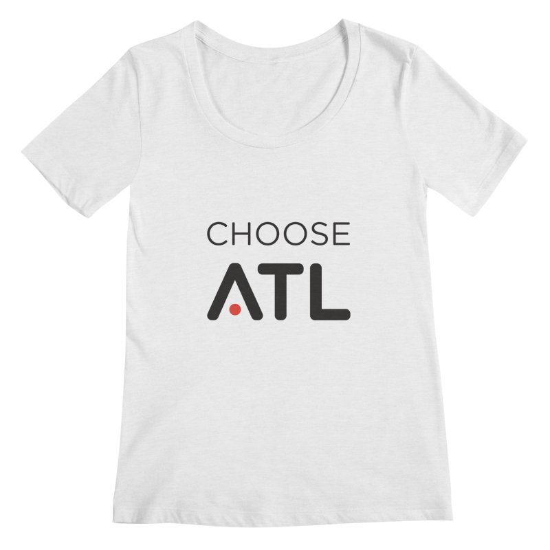 Choose ATL Women's Regular Scoop Neck by