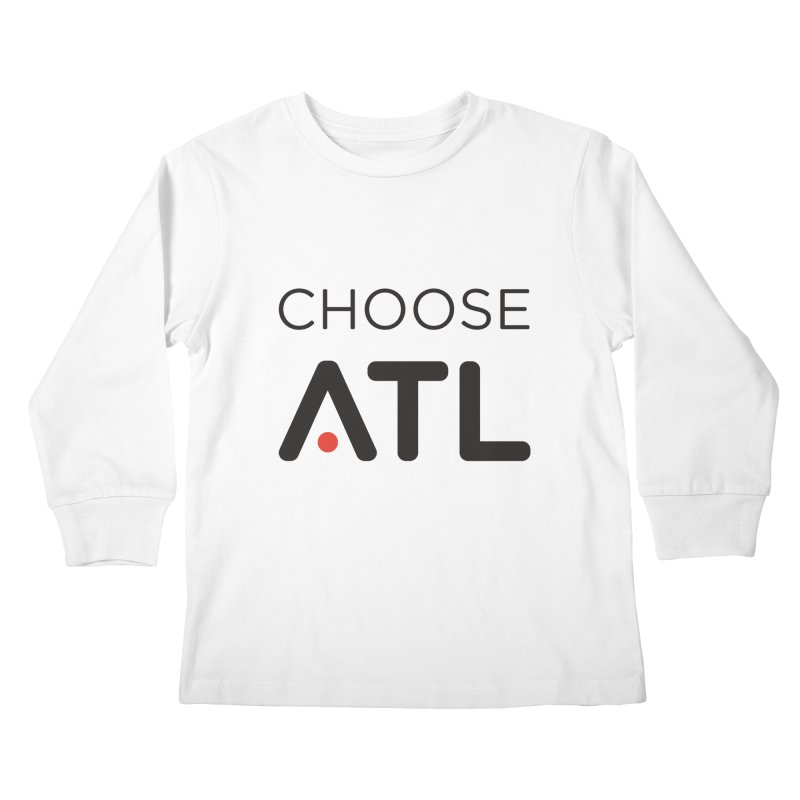 Choose ATL Kids Longsleeve T-Shirt by