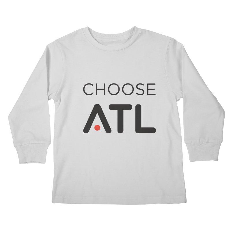 Choose ATL Kids Longsleeve T-Shirt by