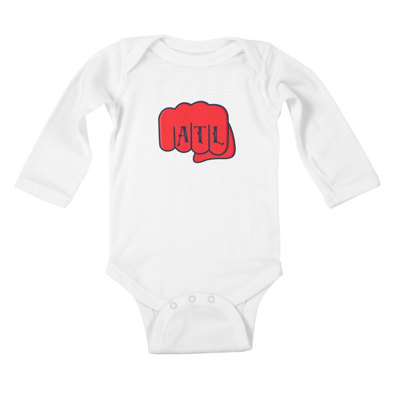 ATL Fist Kids Baby Longsleeve Bodysuit by