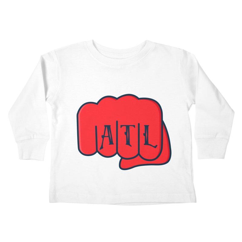 ATL Fist Kids Toddler Longsleeve T-Shirt by