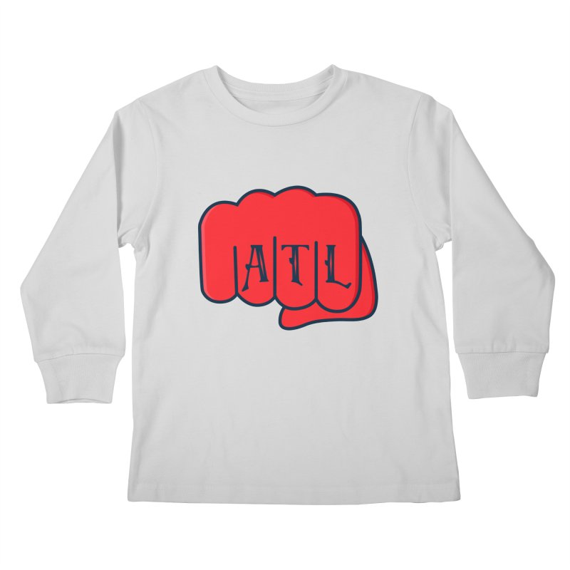 ATL Fist Kids Longsleeve T-Shirt by