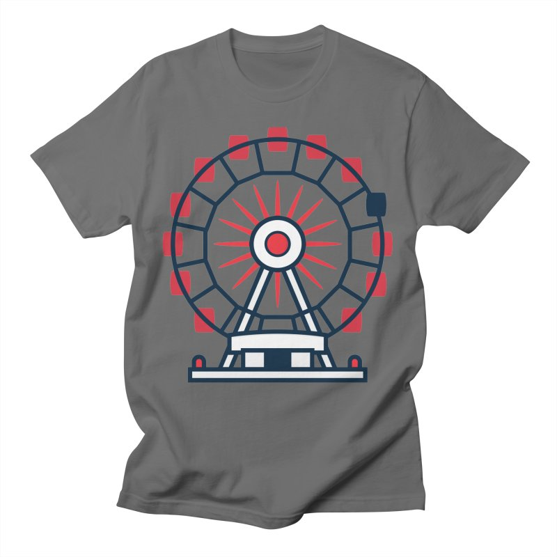 Atlanta Ferris Wheel Men's T-Shirt by
