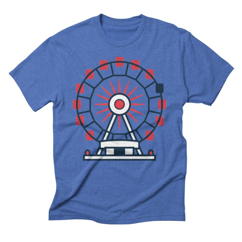Atlanta Ferris Wheel Men's T-Shirt by