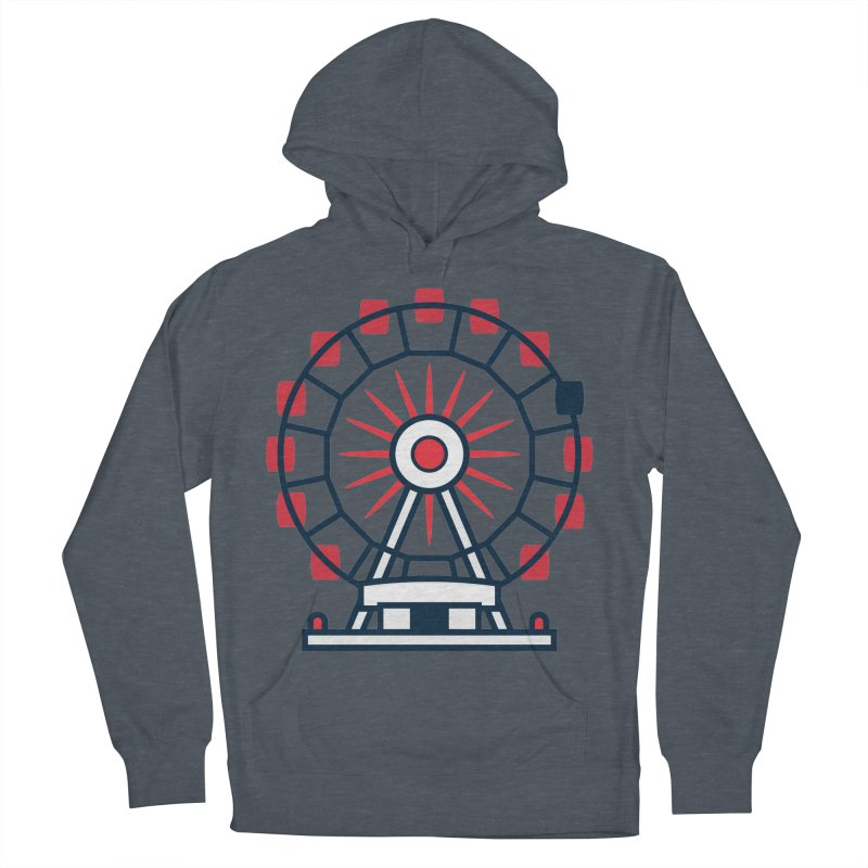 Atlanta Ferris Wheel Women's French Terry Pullover Hoody by