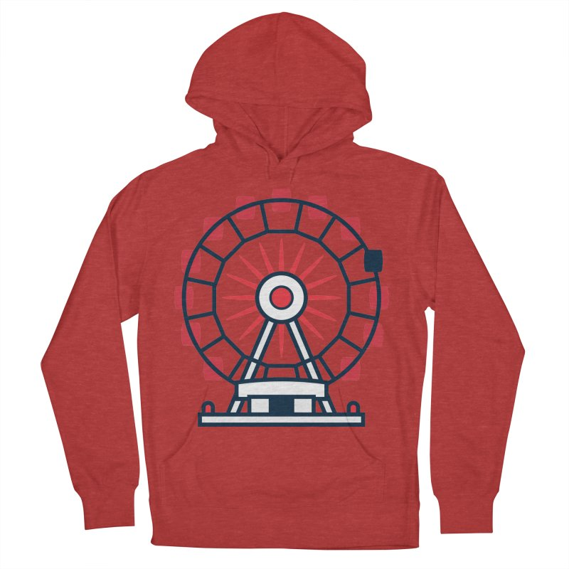 Atlanta Ferris Wheel Men's French Terry Pullover Hoody by