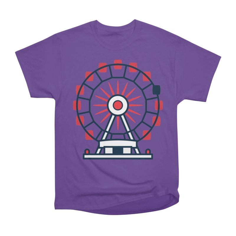 Atlanta Ferris Wheel Women's Heavyweight Unisex T-Shirt by