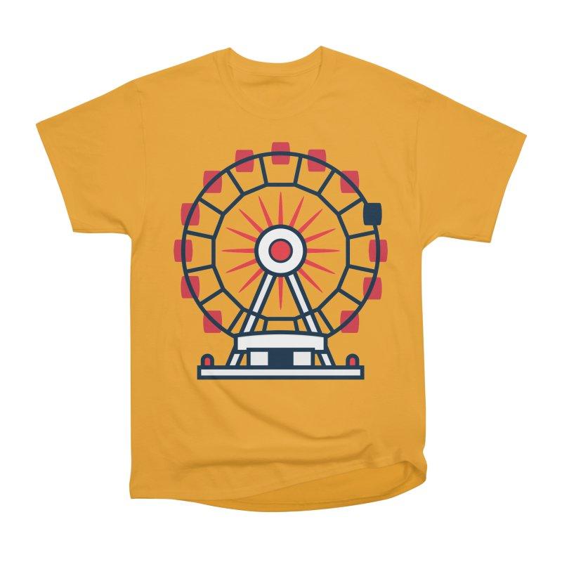 Atlanta Ferris Wheel Men's Heavyweight T-Shirt by