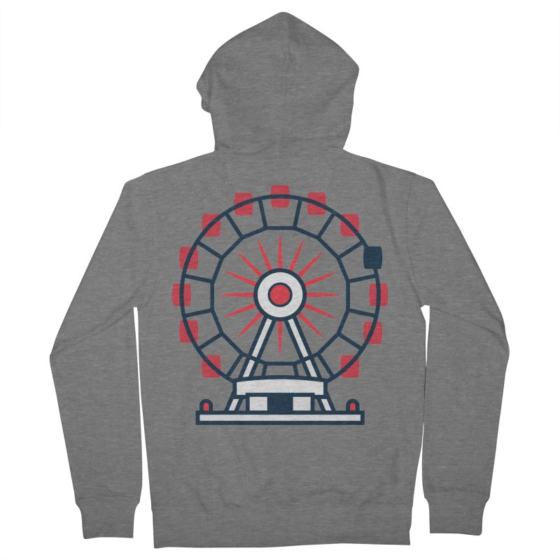 Atlanta Ferris Wheel Women's French Terry Zip-Up Hoody by