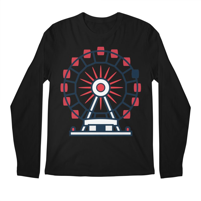 Atlanta Ferris Wheel Men's Regular Longsleeve T-Shirt by