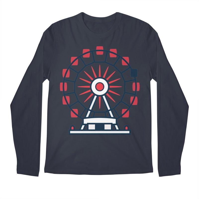 Atlanta Ferris Wheel Men's Regular Longsleeve T-Shirt by