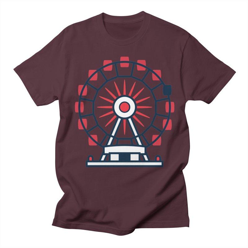 Atlanta Ferris Wheel Women's Regular Unisex T-Shirt by