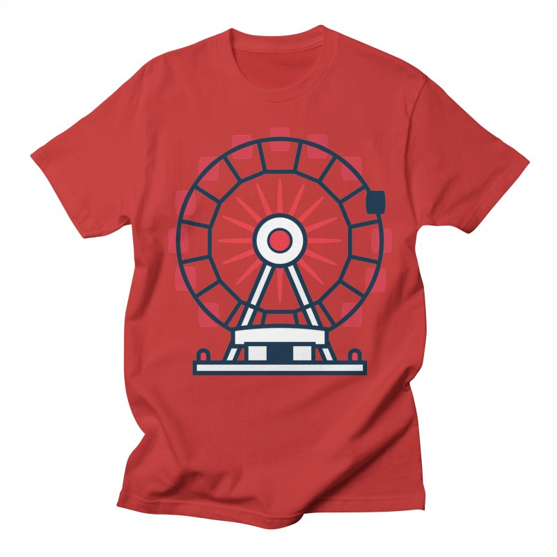 Atlanta Ferris Wheel Men's Regular T-Shirt by