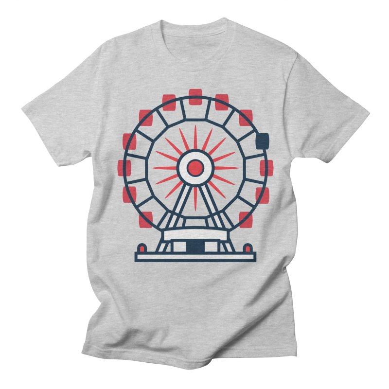 Atlanta Ferris Wheel Men's Regular T-Shirt by