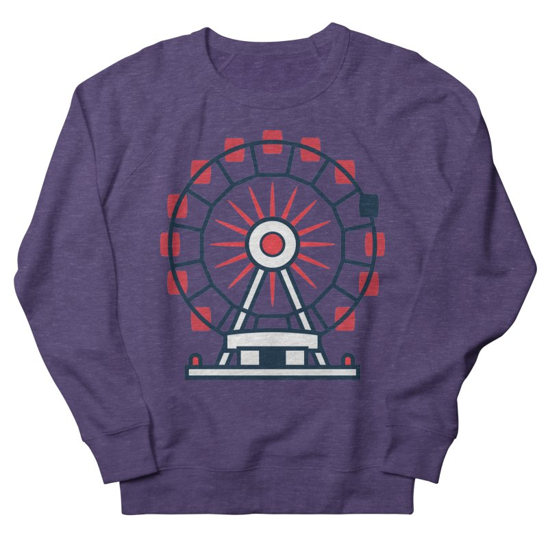 Atlanta Ferris Wheel Men's French Terry Sweatshirt by