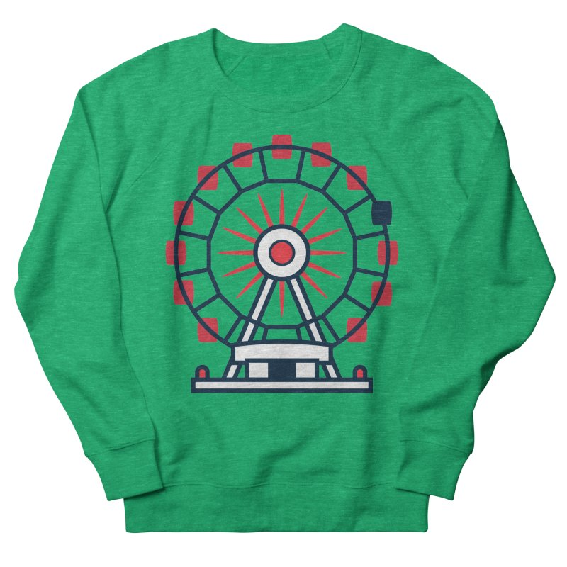 Atlanta Ferris Wheel Men's French Terry Sweatshirt by