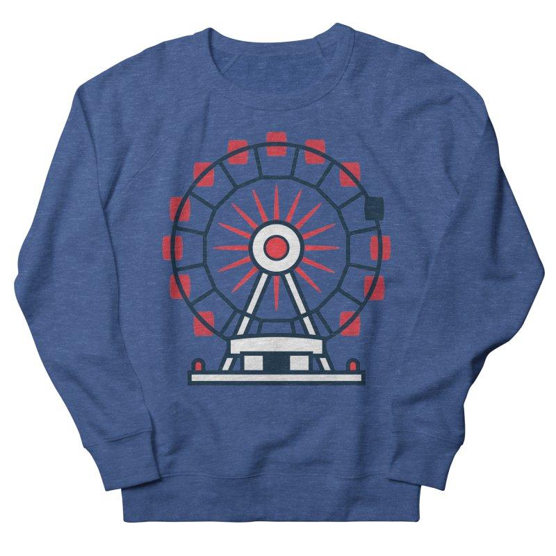 Atlanta Ferris Wheel Men's Sweatshirt by