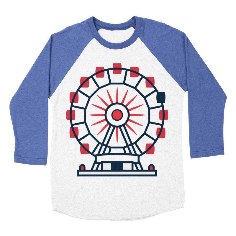 Atlanta Ferris Wheel Women's Baseball Triblend Longsleeve T-Shirt by