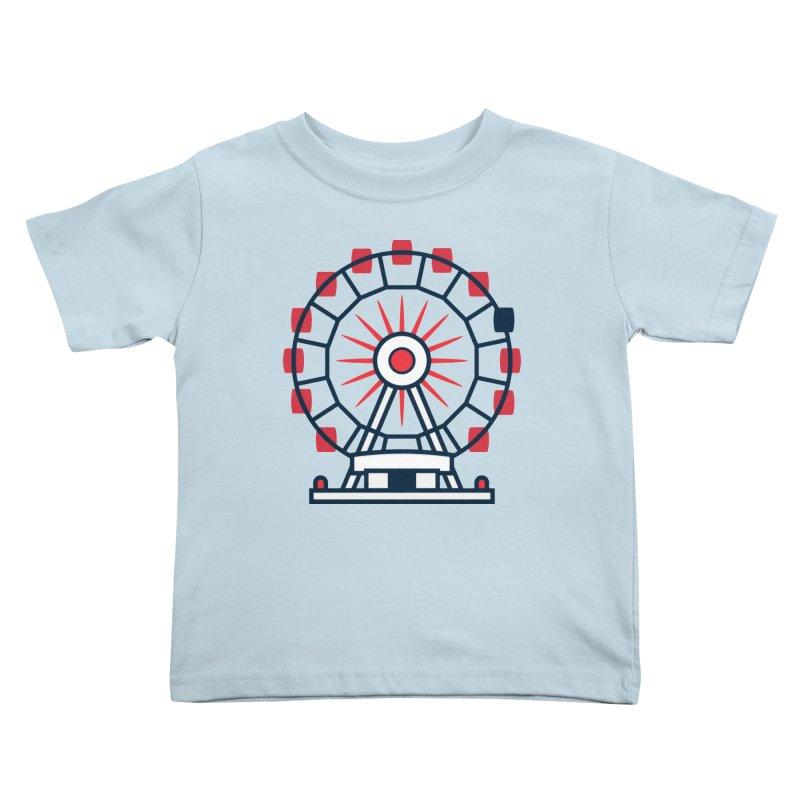Atlanta Ferris Wheel Kids Toddler T-Shirt by