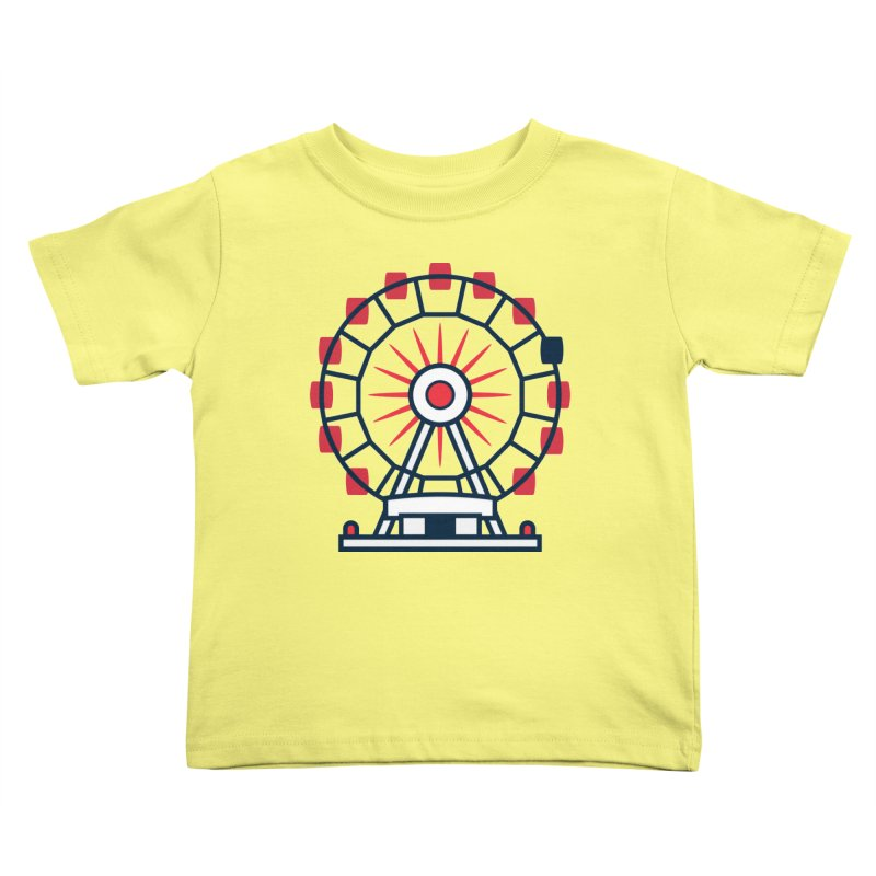 Atlanta Ferris Wheel Kids Toddler T-Shirt by