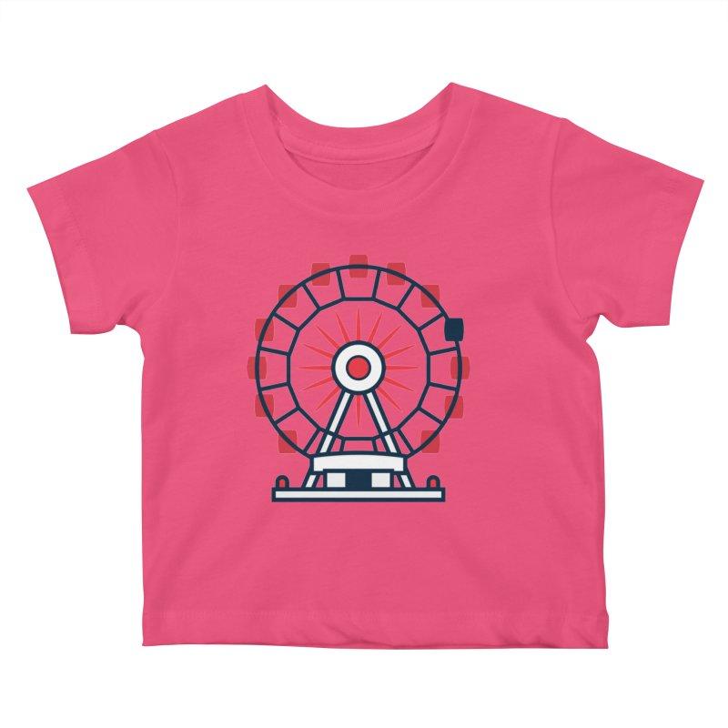 Atlanta Ferris Wheel Kids Baby T-Shirt by