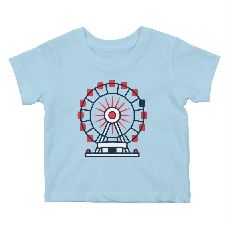 Atlanta Ferris Wheel Kids Baby T-Shirt by