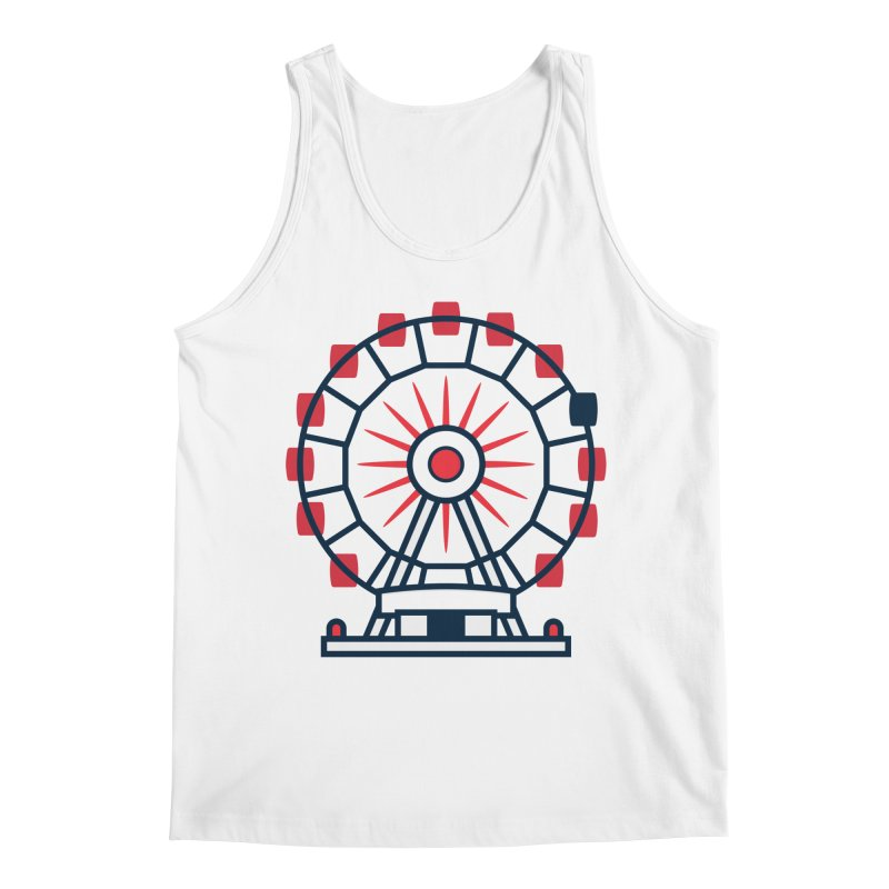 Atlanta Ferris Wheel Men's Regular Tank by