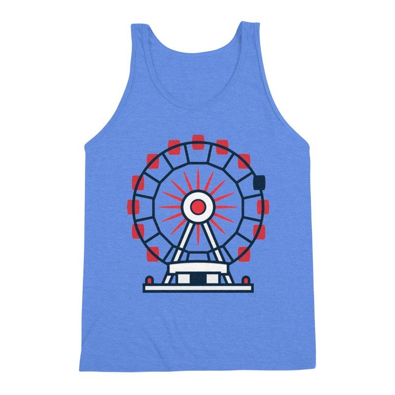 Atlanta Ferris Wheel Men's Triblend Tank by