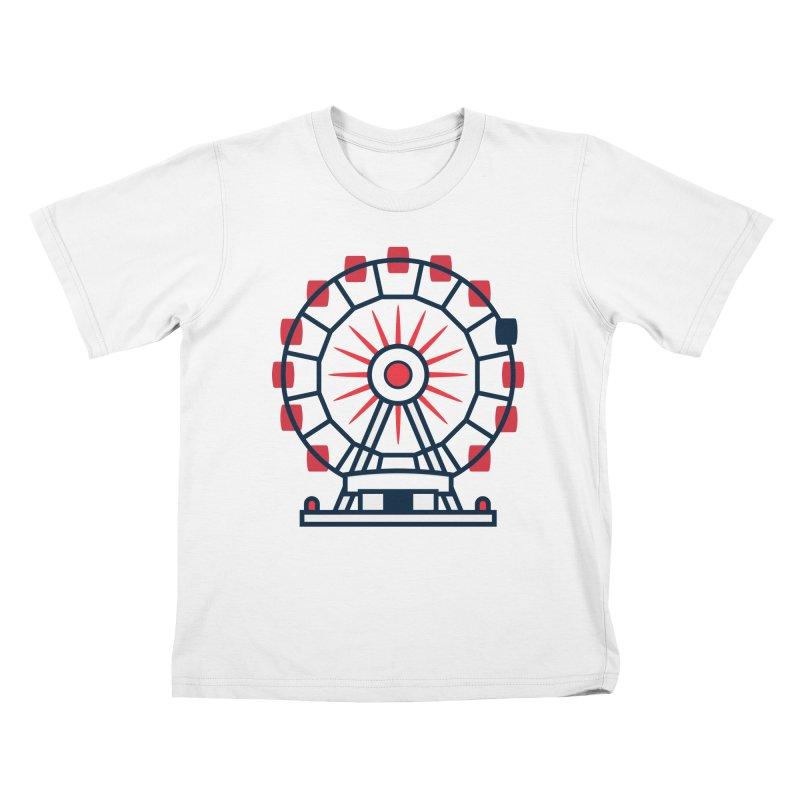 Atlanta Ferris Wheel Kids T-Shirt by