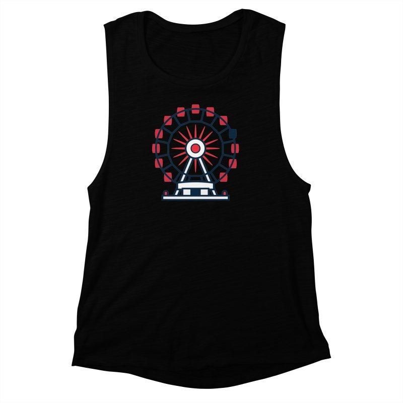 Atlanta Ferris Wheel Women's Muscle Tank by