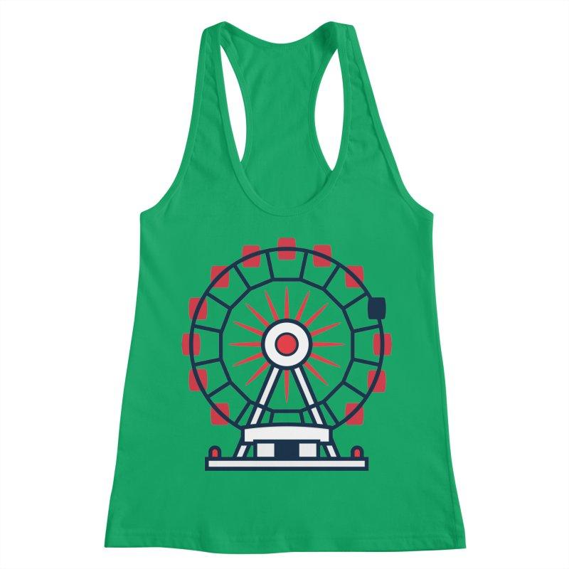 Atlanta Ferris Wheel Women's Racerback Tank by