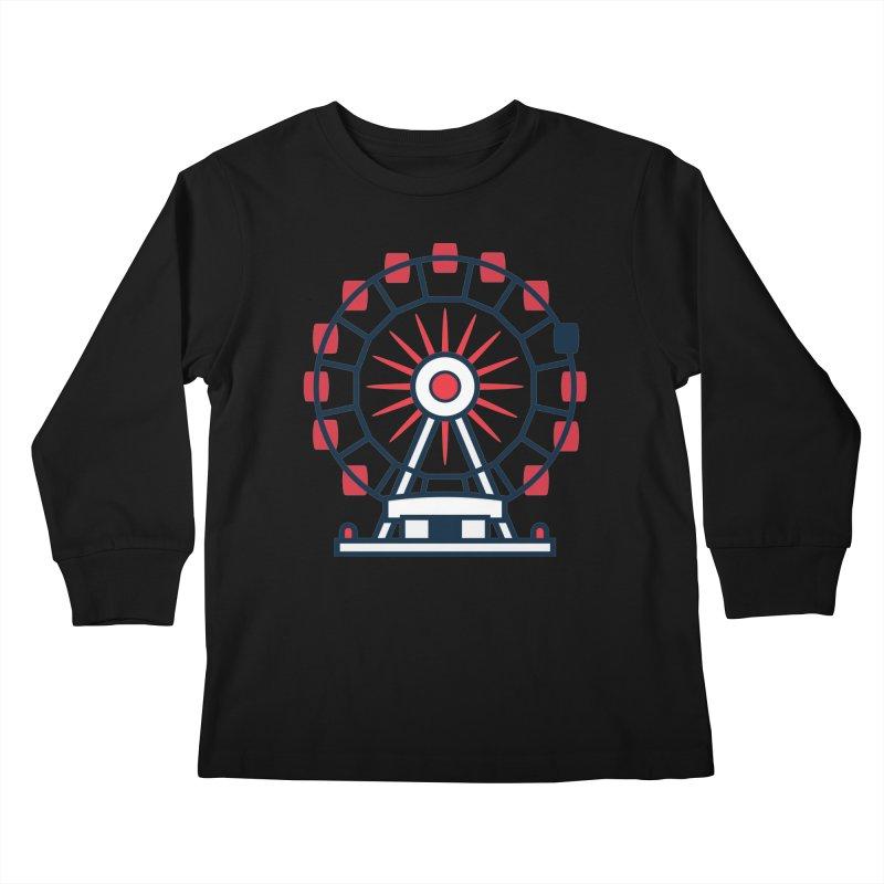 Atlanta Ferris Wheel Kids Longsleeve T-Shirt by