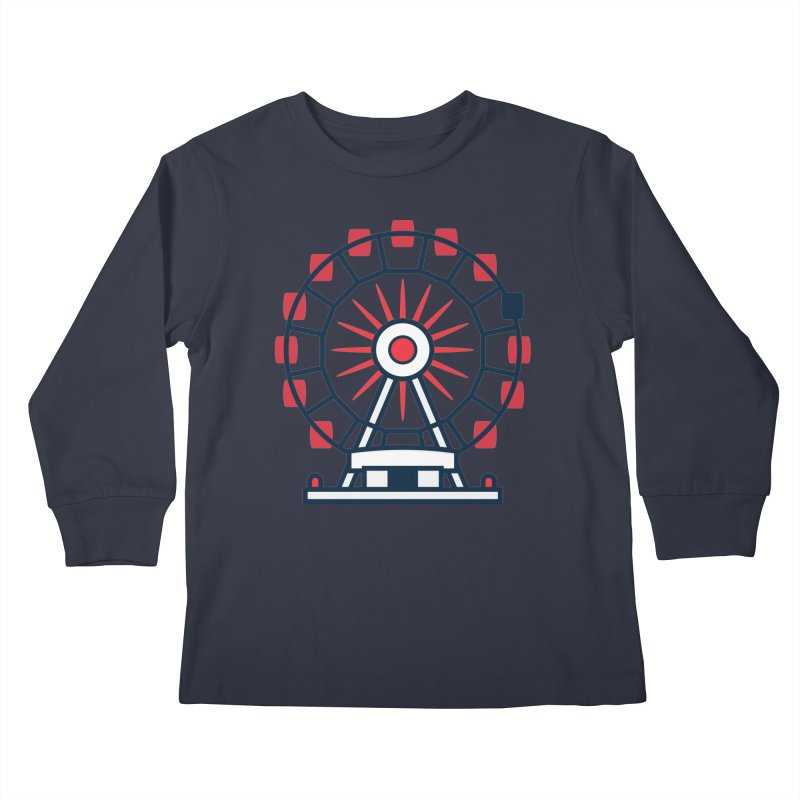 Atlanta Ferris Wheel Kids Longsleeve T-Shirt by