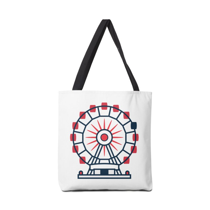 Atlanta Ferris Wheel Accessories Tote Bag Bag by