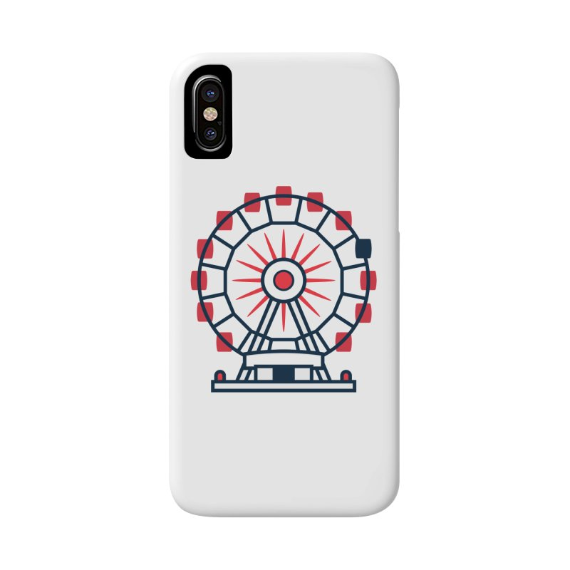 Atlanta Ferris Wheel Accessories Phone Case by