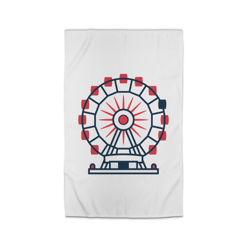 Atlanta Ferris Wheel Home Rug by