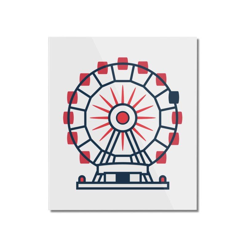 Atlanta Ferris Wheel Home Mounted Acrylic Print by