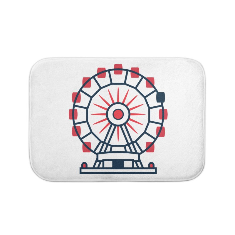 Atlanta Ferris Wheel Home Bath Mat by